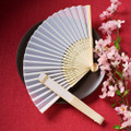Elegant Silk Fan Favor