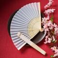 Elegant Silk Fan Favor