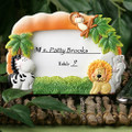 Jungle Critters Place Card or Frame Favor