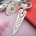 Heart Design Bookmark Favor
