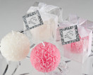 Rose Ball Candle in Gift Box