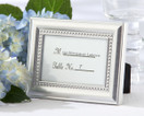Beautifully Beaded Photo Frame or Placecard Holder