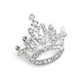 Crystal Rhinestone Crown Pin