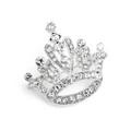 Crystal Rhinestone Crown Pin