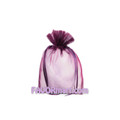 5 x 6.5 Solid Color Sheer Organza Bags - 10pcs