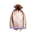 5.5 x 9 Solid Color Sheer Organza Bags - 10pcs