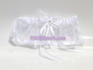 2&quot; Organza and Satin Garter