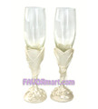 Simply Beautiful Toasting Flutes - Set of 2