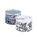 3 inch x 3 inch Damask Mini Favor Boxes