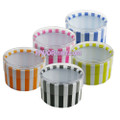 2 inch x 1 inch Striped Mini Favor Boxes