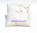 Ivory Pearl Love Ring Pillow