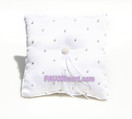White Pearls Ring Pillow