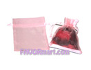 4 x 5 Satin and Organza Bags - 6 pcs