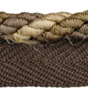 "CABLE CORD.BRONZE T30560 by Threads Trim - Cotton 58%, Silk 28%, Polyester 14% China - H"" -, V: - .25 inches  - Fabric Carolina -  Threads"