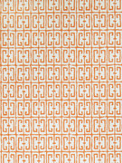 Fret Orange 4760704 by Stroheim Wallpaper Dana Gibson Wallcovering 100% Paper U.S.A. Double Rubs: - Untrimmed ; Strippable ; Passes ASTM-E84 ; Ce Mark Certified ; Side Match ; Unpasted ; Exclusive Pattern ; Washable H: 27.00 in (68.58 cm), V: 15.50 in (39.37 cm) 27.00 in (68.58 cm) - Fabric Carolina - Stroheim