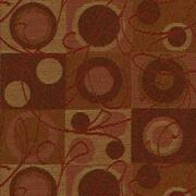 """Ambiance 17 Claret by Crypton Fabric - 57% Rayon 43% Recycled Polyester - Exceeds 50,000 Double Rubs. H: 7.2""""(18.2cm) Across the Roll., V: 12.4 """"(31.5cm) Up the Roll. 54"""" (137 cm)  - Fabric Carolina -  Crypton"""