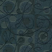 "Ambiance 308 Navy by Crypton Fabric - 57% Rayon 43% Recycled Polyester - Exceeds 50,000 Double Rubs. H: 7.2""(18.2cm) Across the Roll., V: 12.4 ""(31.5cm) Up the Roll. 54"" (137 cm)  - Fabric Carolina -  Crypton"