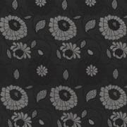 Aalsmeer Noir by Kasmir Fabric 8000 88% Rayon 12% Polyester CHINA 30,000 Wyzenbeek Double Rubs H: 14 inches, V:20 4/8 inches 54 - 56 - Fabric Carolina - Kasmir