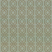 Abacot Aqua by Kasmir Fabric 5074 100% Polyester Embroidery Contents 100% Polyester CHINA Not Tested H: 3 4/8 inches, V:3 6/8 inches 57 - 58 - Fabric Carolina - Kasmir