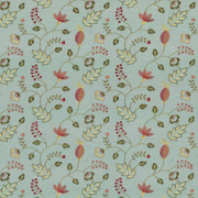 Abberville Azalea by Kasmir Fabric 1443 100% Polyester Embroidery Contents 100% Polyester INDIA 30,000 Wyzenbeek Double Rubs H: 13 inches, V:9 4/8 inches 54 - 55 - Fabric Carolina - Kasmir