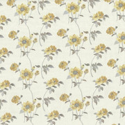 Aldwych Garden Canary by Kasmir Fabric 1434 88% Polyester 12% Cotton Embroidery Contents 100% Polyester INDIA Not Tested H: 13 inches, V:9 2/8 inches 54 - 56 - Fabric Carolina - Kasmir