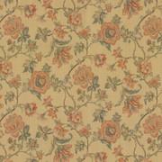 Amberlyn Floral Sunshine by Kasmir Fabric 8000 55% Polyester 45% Rayon CHINA 30,000 Wyzenbeek Double Rubs H: 28 4/8 inches, V:21 inches 54 - 56 - Fabric Carolina - Kasmir