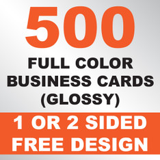 500 Business Cards (Glossy)