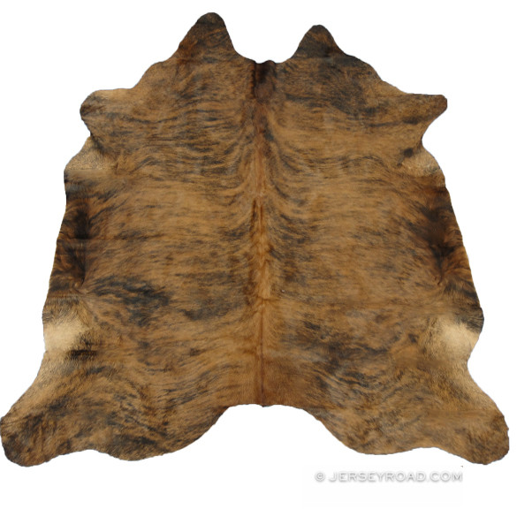 ... Medium Brindle Cowhide Rug. Image 1