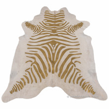 Gold Printed Zebra