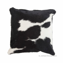 Black and White Cowhide Pillow 50/50