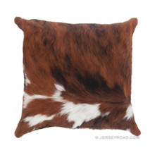 80/20 Tri color Cowhide Pillow