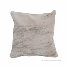 Light Brindle Cowhide Pillow