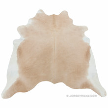 Light Palomino Cowhide Rug