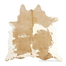 Palomino & White Cowhide Rug