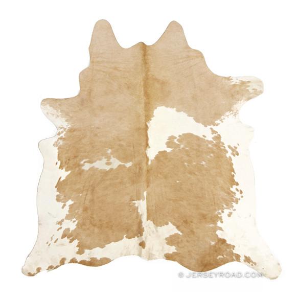 palomino u0026 white cowhide rug