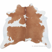 Brown & White  50% Cowhide Rug