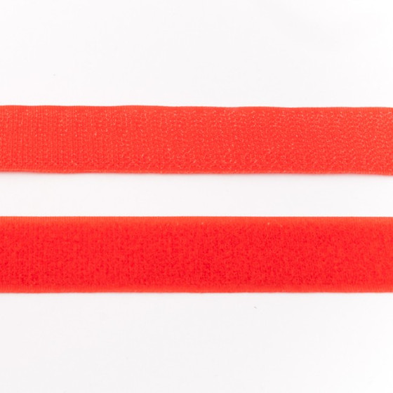 Hook & Loop Tape: Red