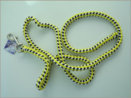 Fluorescent pp lead rope yellow white navy braids