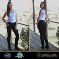 Super Durable Polycotton Ladies Breeches Extreme Stretchy Clarino Full Seat