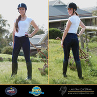 New Slub Denim Clarino Full Seat Ladies Breech