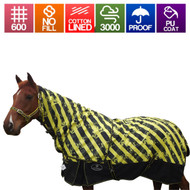 Extreme Waterproof Cotton Lined Rainsheet With Detachable Neck Rug