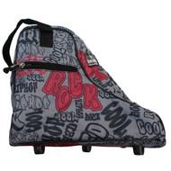 Graffiti Jodphur Boot Bag / Snow Boots Bag / Skates Bag