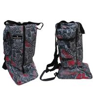 Unicorn Funky Pink Printed Tall Boot Bag / Snow Boot Bag