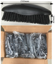 Wholesale Pack of 5 Soft Bristles Horse Body Brushes 230mm Grooming Brush Tool