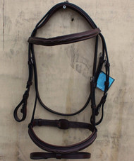 Premium Leather Flash Brown Bridle