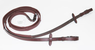 Unicorn soft leather covered reins