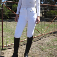 Unicorn Ladies Classic Plain White Jodhpurs