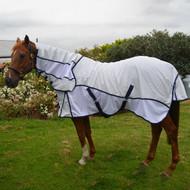Hybrid White Mesh Combo Horse Rug