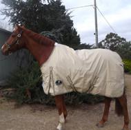 600D Ripstop 100% Waterproof Rainsheet No Fill Regular Horse Rug