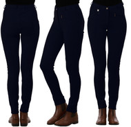 Ladies Classic Plain Navy Blue Jodhpurs